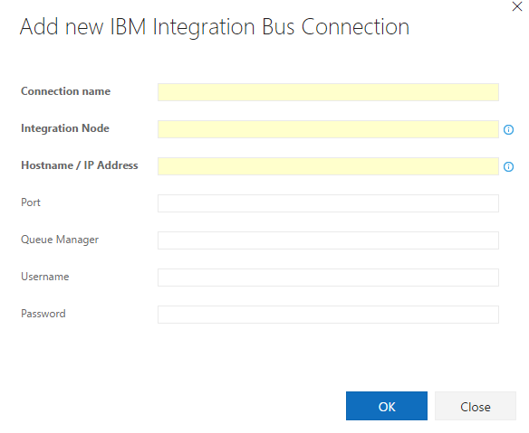 IBM Integration Bus Endpoint