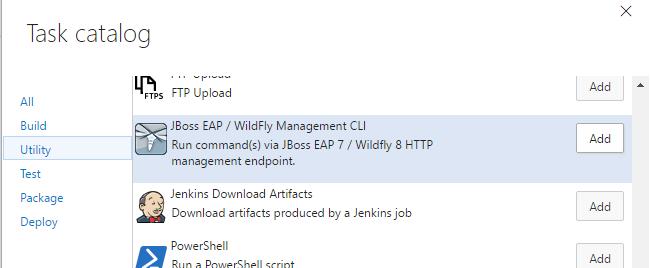 WildFly/Mangement task