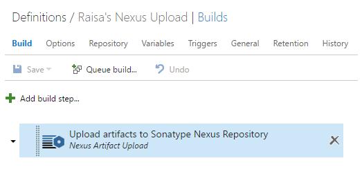 Integrate with Sonatype Nexus - Visual Studio Marketplace